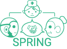 SPRING: Socially Pertinent Robots in Gerontological Healthcare Logo