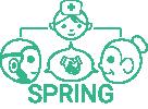 SPRING: Socially Pertinent Robots in Gerontological Healthcare Logo